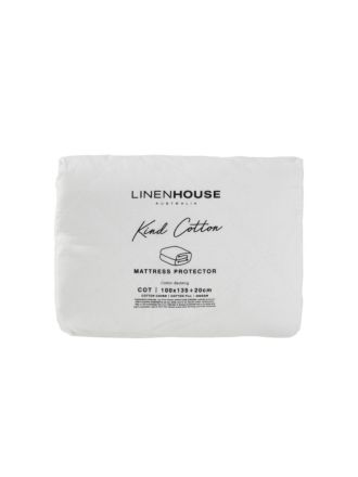 Kind Cotton Cot Mattress Protector - 200 GSM