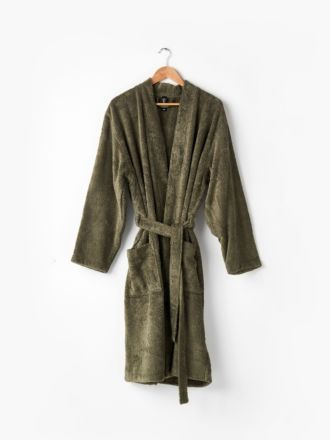 Nara Moss Bath Robe