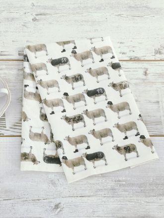 Counting Sheep Tea Towel