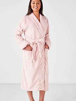 Plush Blush Robe