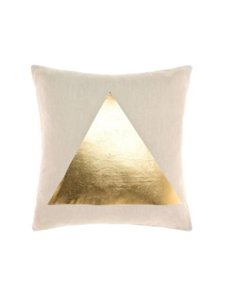 Apex Gold Cushion 50x50cm
