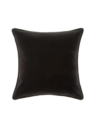 Waffle Black European Pillowcase