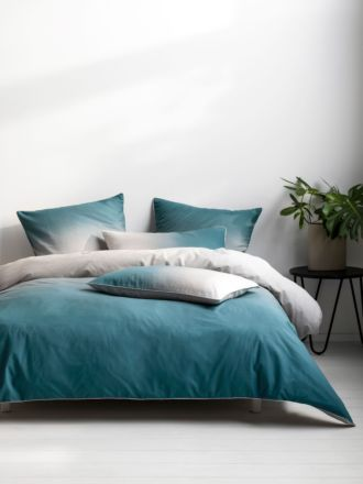 Newman Teal Quilt Cover Set