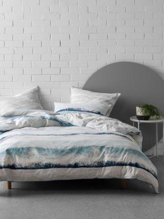 Terrain Blue Quilt Cover Set