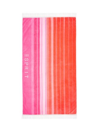 Ombre Pink Beach Towel