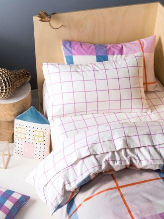 Blanky Pink Flannelette Sheet Set
