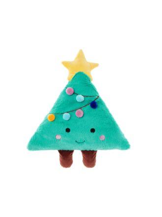 Christy Christmas Tree Novelty Cushion