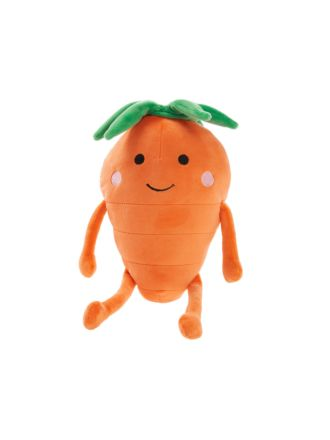 Happy Carrot Novelty Cushion