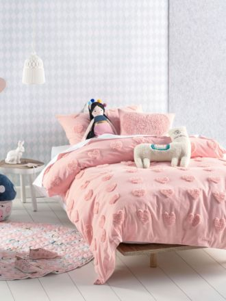 Love Me Do Candy Quilt Cover Set