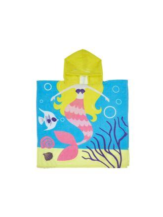 Maisy Mermaid Hooded Beach Towel