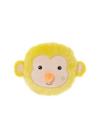 Monkey Face Novelty Cushion
