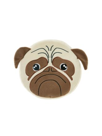 Pug Dog Novelty Cushion