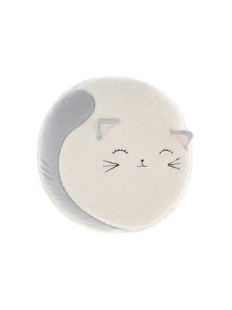 Sleepy Kitty Novelty Cushion