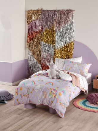 Unicorniverse Quilt Cover Set