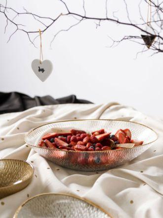 Metallic Spot Tablecloth