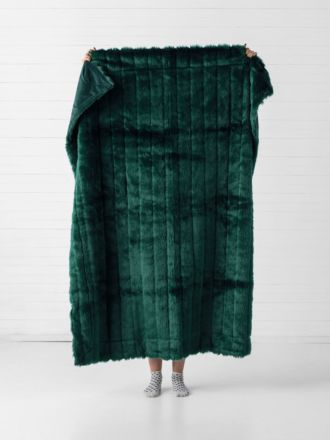 Chanel Emerald Throw