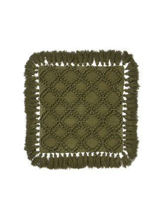 Circlet Olive Cushion 48x48cm