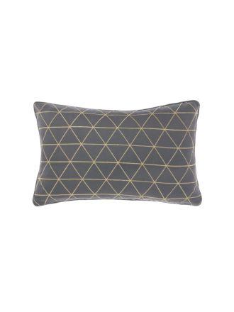 Everett Charcoal Cushion 35x55cm