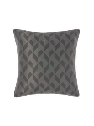 Everett Charcoal European Pillowcase