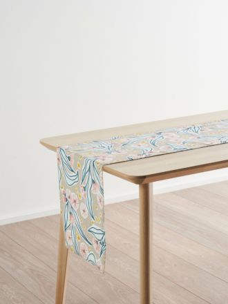 Evie Natural Table Runner