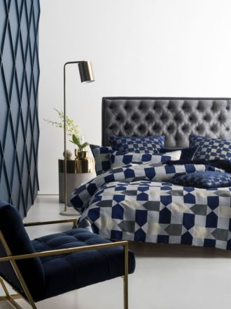 Fabiano Navy Quilt Cover Set