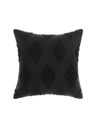 Fawkner Black Cushion 50x50cm