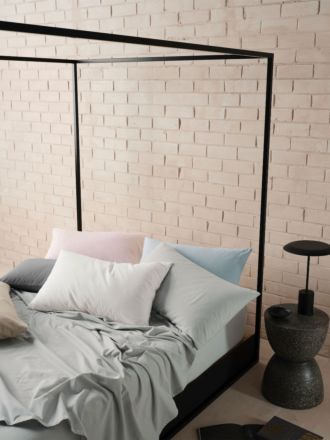 Flannelette Plain-Dyed Sheet Set