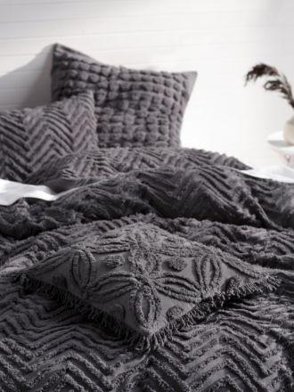 Fog Charcoal Cushion 45x45cm