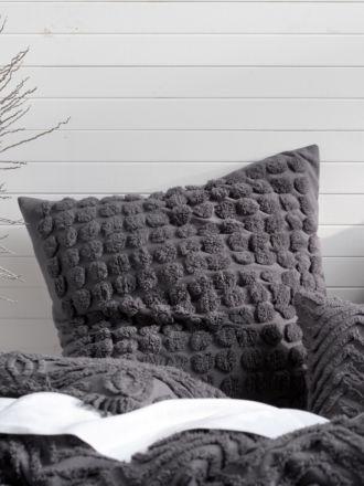 Fog Charcoal European Pillowcase