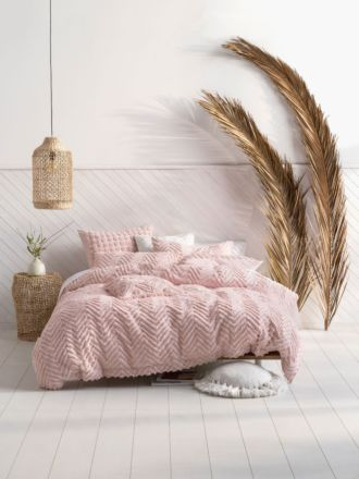 Fog Pink Quilt Cover Set