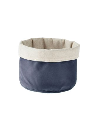 Frida Navy Storage Basket