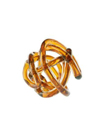 Glass Knots Caramel D