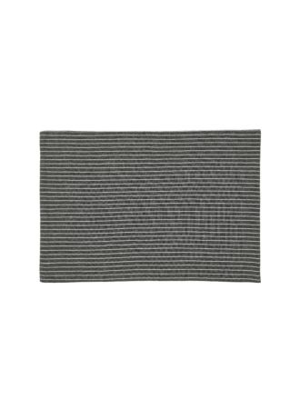 Grey Stripe Placemat
