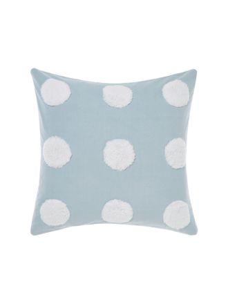 Haze Blue/White European Pillowcase