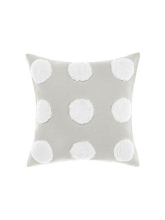 Haze Grey/White Cushion 45x45cm