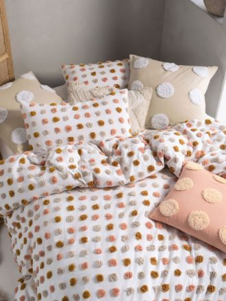Haze Pink Sand Quilt Cover Set