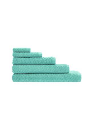 Jordan Spot Aqua Towel Collection
