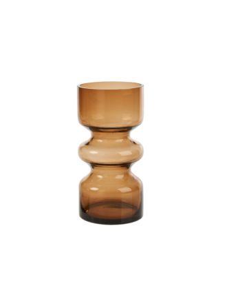Leon Amber Vase 25cm