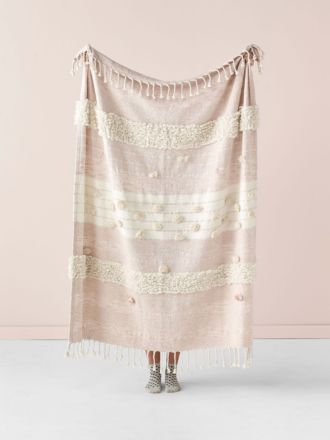 Merricks Blush Throw