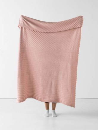 Mikel Blush Throw