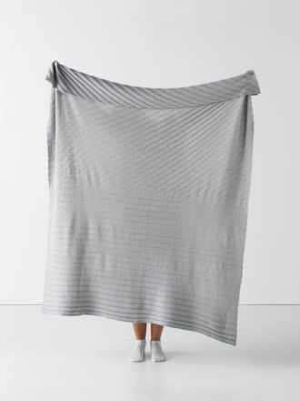 Mikel Grey Throw