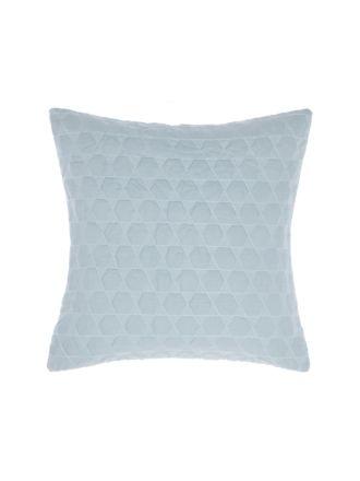 Nimes Blue Linen Cushion 50x50cm