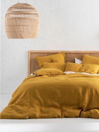 Nimes Chai Linen Quilt Cover Set