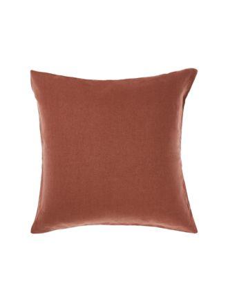 Nimes Rust European Pillowcase