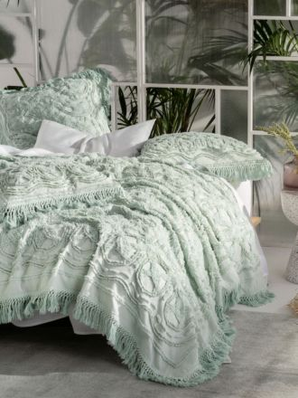 Somers Mint Bed Cover