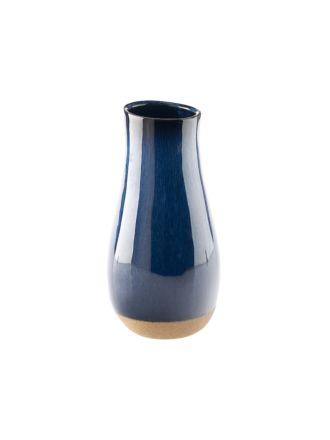 Splendor Blue Vase 25cm