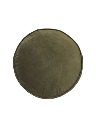 Toro Olive Cushion 43cm Round