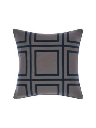 Treillage Navy Cushion 50x50cm