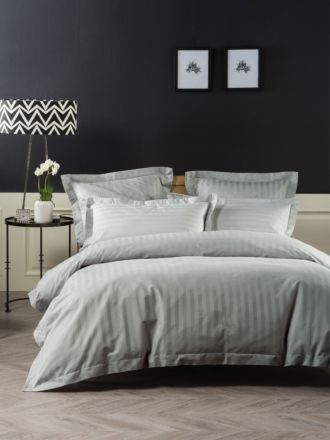 Vaucluse 1000 Thread Silver Quilt Cover Set