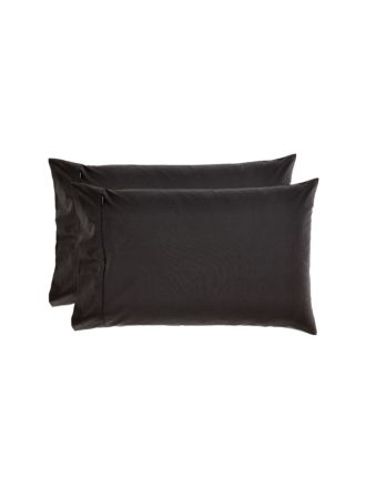 Winton Black Standard Pillowcase Pair
